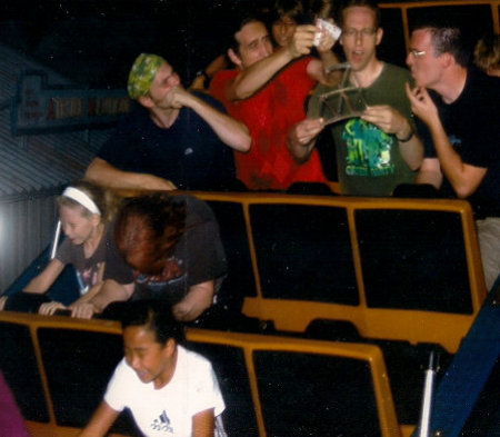 cards on coaster Greatest Ever Roller Coaster Auto Photo Moments