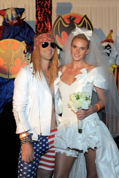 celebrity halloween costumes adam levine anne V