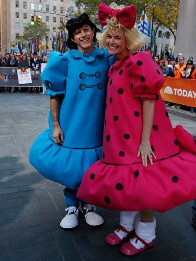celebrity halloween costumes matt lauer lucy