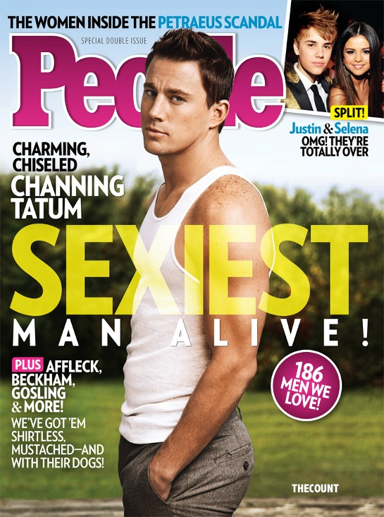 channing tatum people magazine sexiest man alive 2012 cover PEOPLE Sexiest Man Alive IS... Mark Harmon