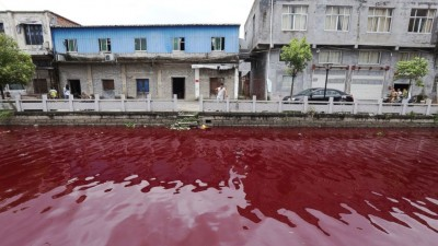 china river blood red
