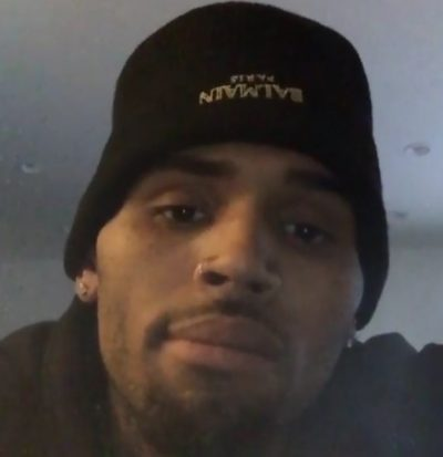 chris brown assault instagram tmz 400x413 Chris Brown BARRICADED In Home Over Assault Accusation