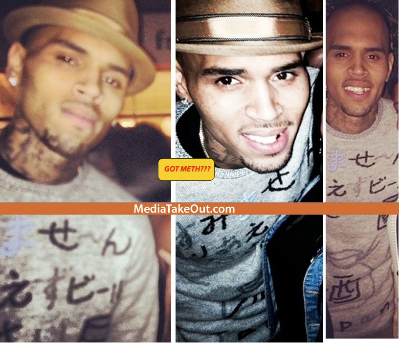 chris brown drugs