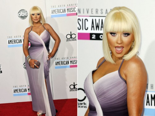 christina aguilera puts on weight 500x375 X Tina Looking More Like Christina Aguilera