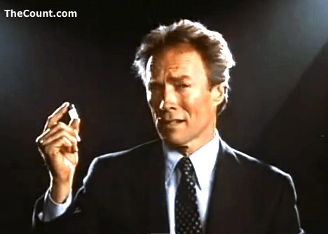 "Back in 1987, Clint Eastwood joined the Reagan administration's ""War on Drugs,"" appearing in a series of cinema PSAs funded by the Motion Pictures Association of America. The ads were shot by the now-defunct Weintraub Entertainment Group, the production company responsible for My Stepmother Is an Alien."