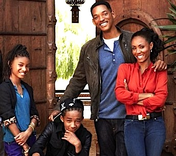 cn image.size .will jada pinkett smith home 01 family portrait JADEN SMITH TWEETS BE COOL, DROP OUT OF SCHOOL