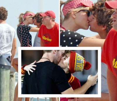 connor kennedy taylor swift Miley Cyrus and Patrick Schwarzenegger