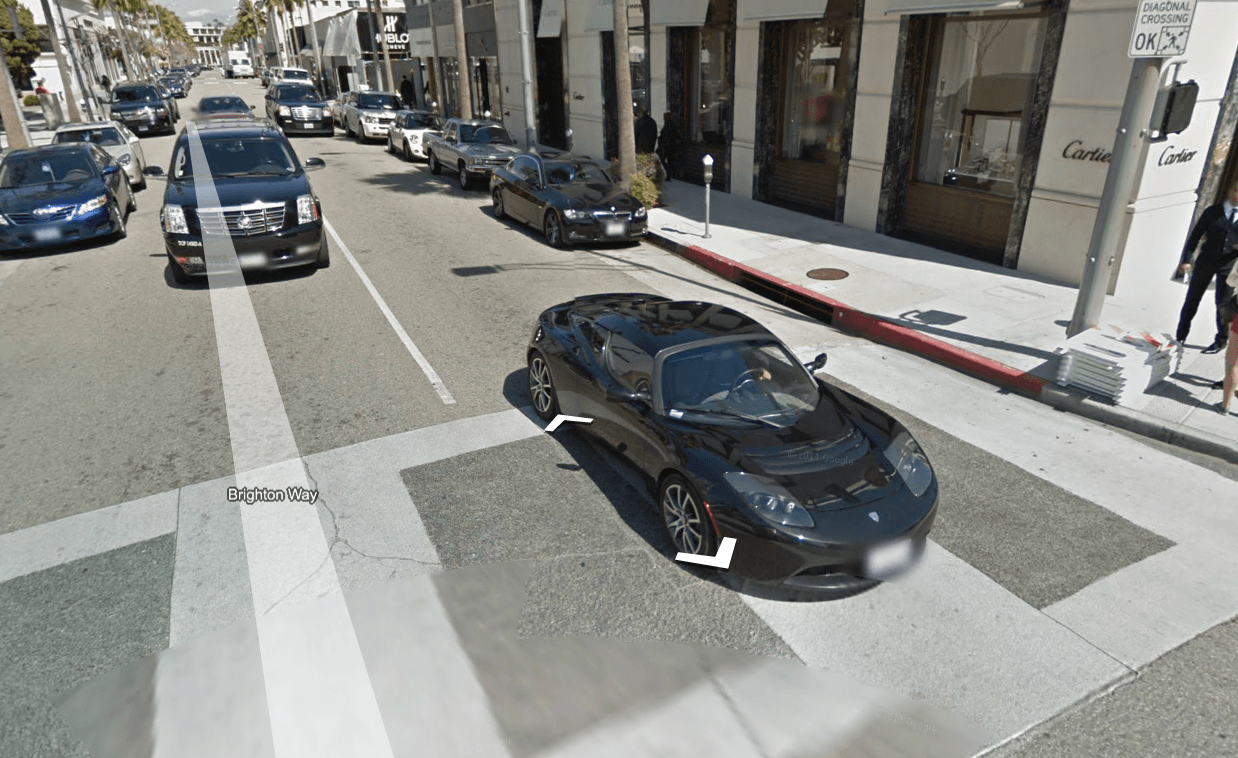 Drive Google Maps Car Cool Car Rodeo Drive Google