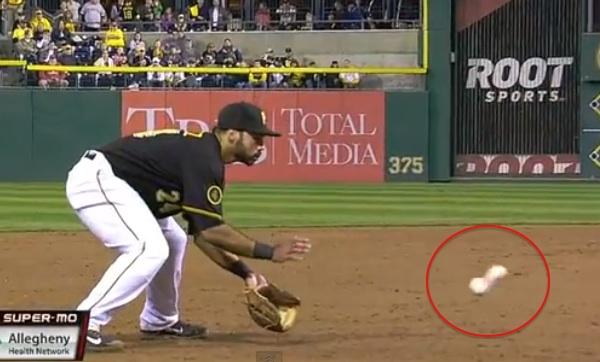 cover comes off baseball