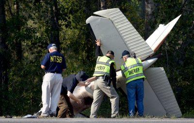 crash scene Darrell Ward