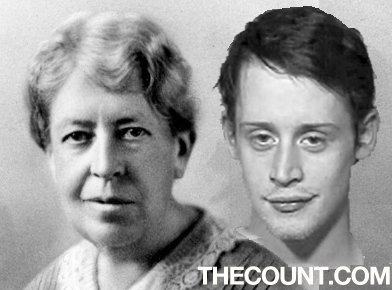 culkin doppelganger Mary Whiton CalkinsWCAprimary Macaulay Culkin DOPPELGANGER Turn of the Century FEMINIST!