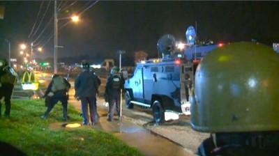 curfew violated ferguson cops