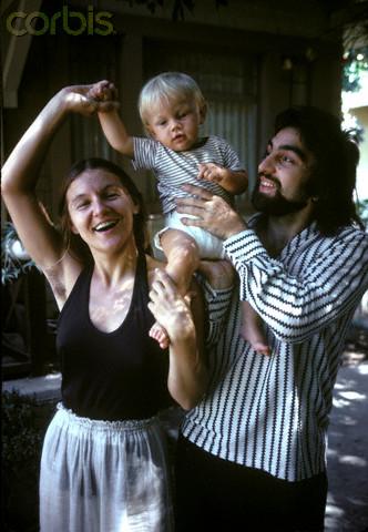Leonardo DiCaprio and Parents