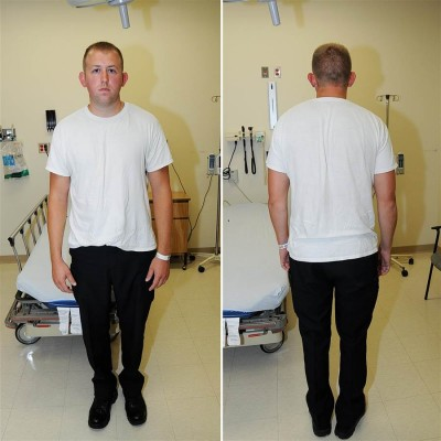 darren wilson after shooting photo
