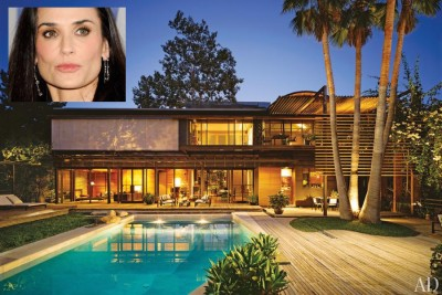 demi moore pool drowned