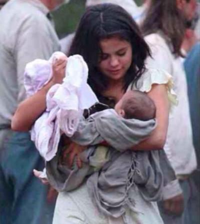 did selena gomez have a baby