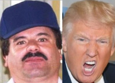 donald trump el chapo 400x291 El Chapo Bring Me The Head Of Donald Trump Sets Bounty At $100M