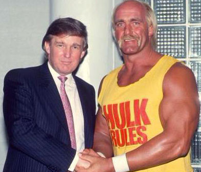 donald trump hulk hogan running mate Hulk Hogan: Forget The WWE, I Wanna Be Donald Trumps Running Mate