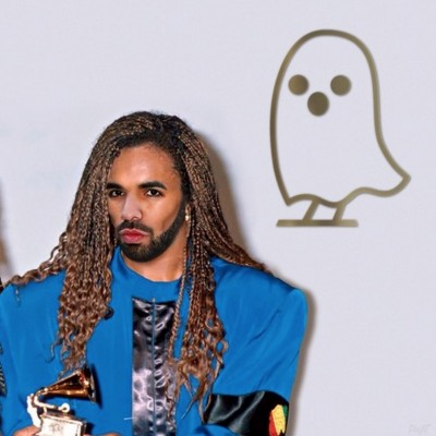 drake mili vanilli 400x400 Meek Mill Posts Cheesy Meme Of Drake As The Ghost Of Milli Vanilli