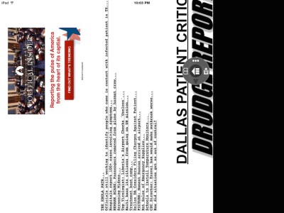 drudgereport app fail