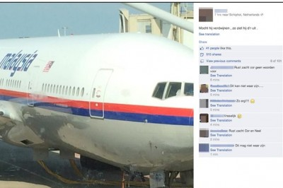 dutch man facebook missing malaysia-airlines-plane-mh17