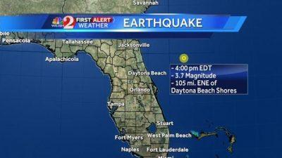 earthquake florida