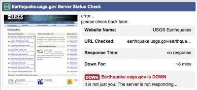 earthquake.usgs.gov down 3