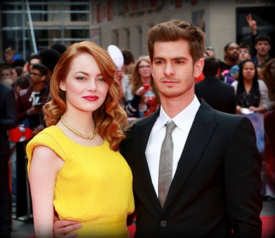 'The Amazing Spider-Man 2' stars Emma Stone & Andrew Garfield