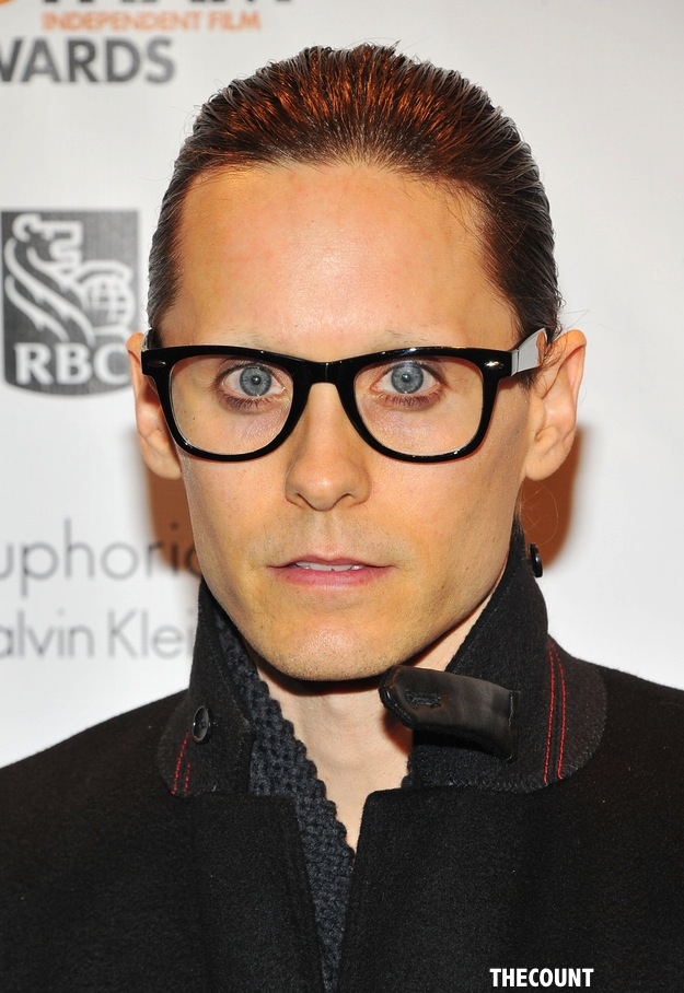 Jared Leto A Fright With No Eyebrows Thecount