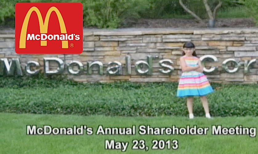 errved McDonalds Get SERVED By 9 Year Old Girl