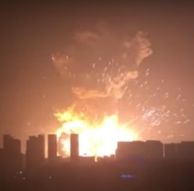 explosion Tianjin chemical factory complex 4