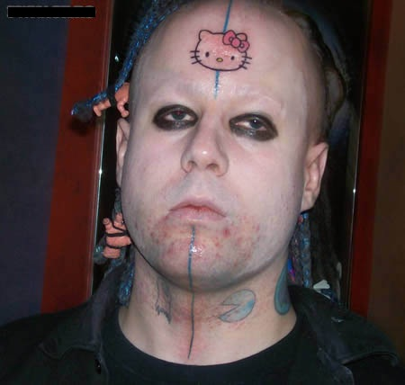 Face Tattoo Bad Removal R.i.p