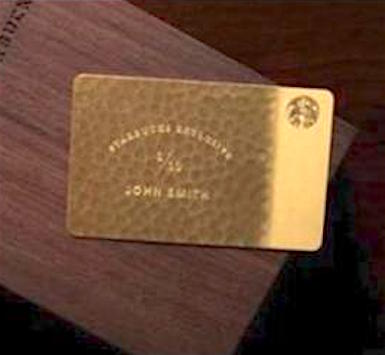 fake starbucks lifetime pass