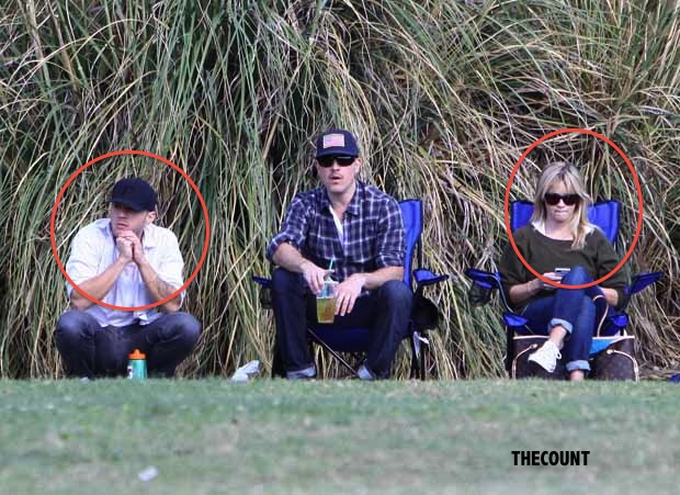 ffn witherspoon phillippe san 111012 50940934 DEACON BLUES: Reese Witherspoon and Ryan Phillippe Reunite
