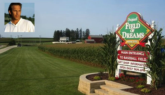 Kevin Costner Field Of Dreams SOLD To Wade Boggs For $3.4 MIL
