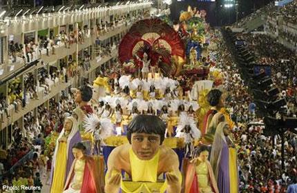float fire carnival
