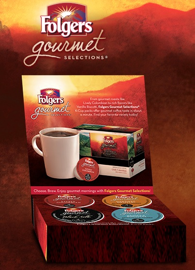 folgers free k cups coffee
