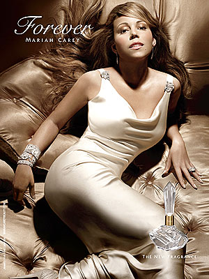 forever mariah carey new fragrance campaign launch Mariah Careys New Perfume Forever Photo