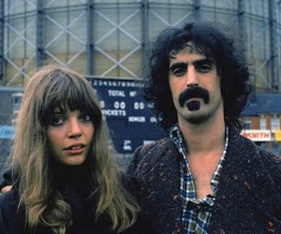 frank and Gail Zappa 400x333 Frank Zappa Widow Gail Zappa Dies
