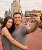 funny-Megan-Fox-Disneyland