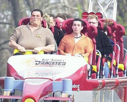 funny roller coaster pictures 14 Greatest Ever Roller Coaster Auto Photo Moments