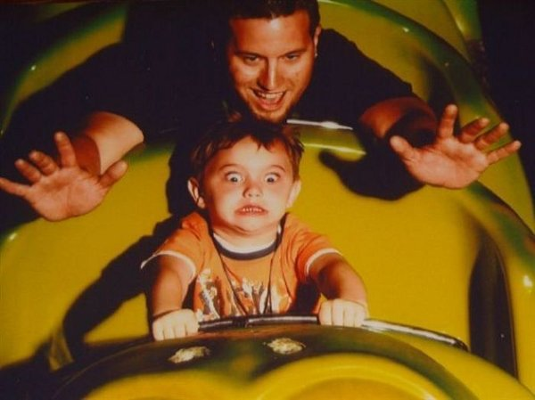 funny rollercoaster kid Greatest Ever Roller Coaster Auto Photo Moments