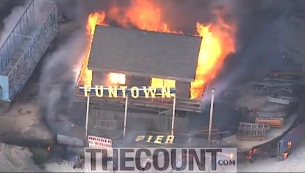 funtown burned nj seaside