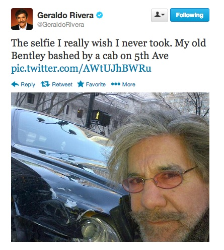 geraldo selfie bentley