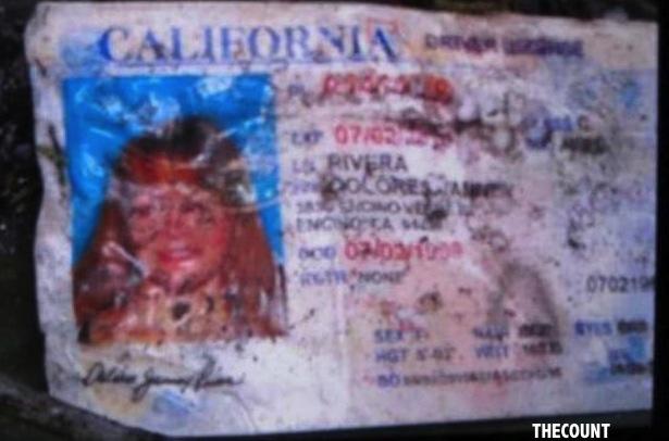 Jenni Rivera's Charred California Driver License Found At Crash