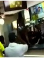 ghettobikinigirl 150x200 Video: Girl in Bikini Attacks Burger King Staff!