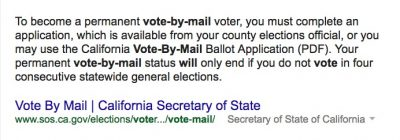 google ballot box search results what is