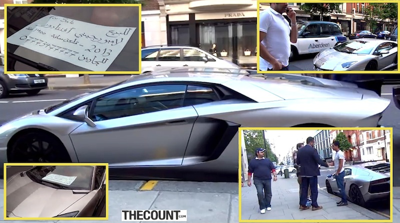 guy buys Lamborghini