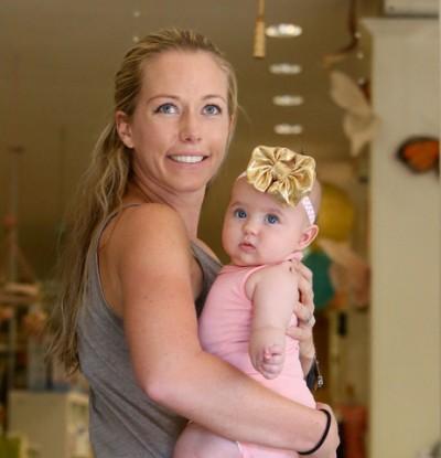 Kendra Wilkinson and baby Alijah pics