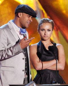 Hayden panettiere and the chewing gum guy